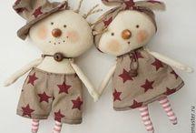 Куклы&броши.