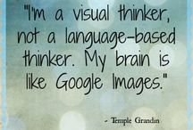 Visual thinking / Thinking in images.