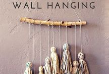 Wall hangings tassel