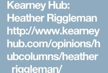 Columns / I write about the beautiful, the mess, life and faith as a columnist of Chasing Perfect at the Kearney Hub News