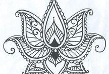 Zeichnungen Muster