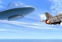 UFO's, Ancient Aliens & Space Phenomena / by Charlotte Gates