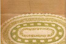 Tapete p banheiro crochet