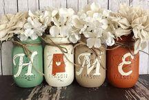Mason Jar DIY and Crafts / All my favorite Mason Jar DIY and Craft ideas