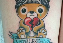 Lovable Teddy Bear Tattoos / When it comes to tattoos the amount of options you have are virtually endless. However, while there are quite a number of tattoos designs and styles one can choose to be done on his or her body today, teddy bear tattoos are fast becoming very popular among both men and women . These types of tattoo designs are some of the most unique and beautiful way to embrace common childhood nostalgia.