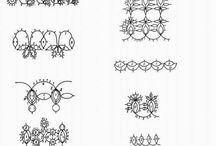 Tatting minták