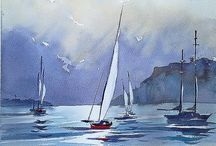 Boats and seascapes