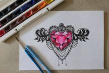 My sketches / Мои работы