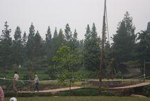 Panorama Citra Alam Riverside / Outbound - Camping dengan pengalaman seru dan pemandangan indah pegunungan.