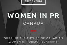 Women in PR / Women in public relations
