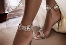 Wedding sandals and shoes