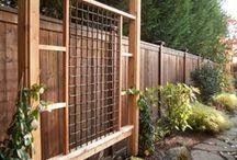 raised bed garden trellis/lattice