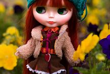 Blythe redhaired / adorable dolls, I simple love them