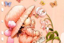 Dibujos de niñas Ruth Morehead