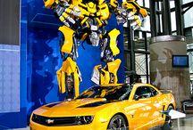 Transformers! / I love Transformers! I mean, who doesn't like giant rock'em sock'em robots!