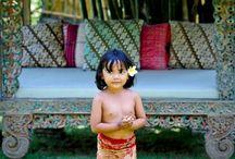 niños de Bali
