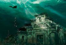 Citta Sommersa In Cina - Lost City found Underwater in China