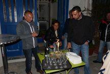 Il brindisi per i miei 49 anni.... / I miei amici mi hanno riservato una festa a sorpresa per il mio 49mo compleanno...è stata veramente una cosa graditissima e bellissima....