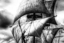 Корабль,морская тема