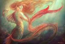 Mermaids / Mermaids, sea nymphs, sea sprites, etc.. / by Ariel Dawn