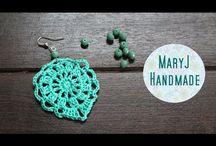 crochet jewelry