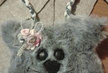 borsette - my works / borsette in feltro per bambine