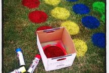 Student outdoor party games