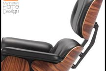 World of Eames Lounge Chair / It's time you made this Eames Lounge Chair replica yours! Our Eames lounge chair replica is a Vitra replica. Its form and functionality have made it one of the most sought after pieces in modern history. Whether you are craving that Mad Men look, or are looking to outfit your living room with a modern design, the Manhattan Home Design Lounge Chair is the right choice for you.