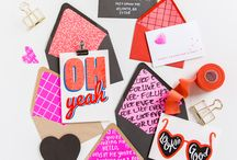 For the Love Of -  Valentine's Day Ideas / Fun and cute Valentine's Day ideas.