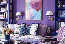 Decoração Ultra Violeta