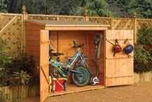 skladovací prostory zahrada