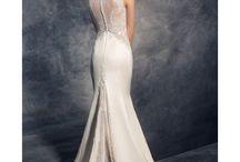 Svadobné šaty s čipkovou / Svadobné šaty šité priamo na mieru za skvelé ceny