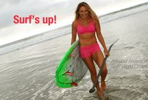 On Location Encinitas / World SUP Champ Annabel Anderson rockin the new Spring/Summer Collection on location in Encinitas, California