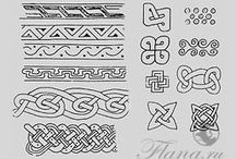 скандинавский орнамент