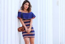 Modelo de roupas
