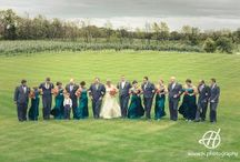 Orchard Weddings / Wedding photos at different Orchards.   Images with groom, bride and bridal parties.