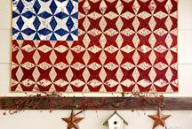 QUILTS FLAG / by Tammy Vonderschmitt