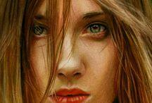 Brian Scott / Coloured pencil artist Brian Scott's incredibly realistic portraits.