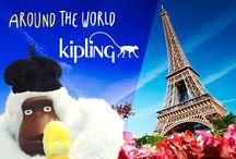 Around the world with Kipling / La diversión te acompaña a cualquier lugar del mundo. ¡Kipling va contigo!