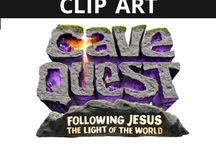 Cave Quest VBS Clip Art / by Group VBS & Children's Ministry