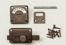 door knobs and finger plates