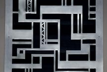 Art Deco labyrinth
