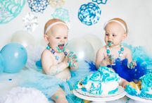 1 Year Cake Smash Photography - Victoria Sturdy
