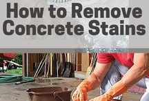 concrete stains removers