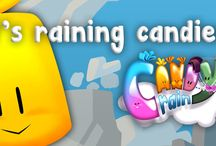 Candy Rain World / Play the most addictive game of sweets on the smartphone