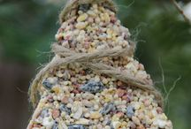 For the Birds / Ideas for bird crafts and feeders
