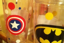 glasses and tumblers
