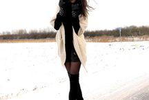 Overknee black boots