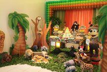 Festa Mickey Safari