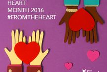 #FromTheHeart / Celebrate American Heart Month by sharing advice and gifts #FromTheHeart, for the heart.